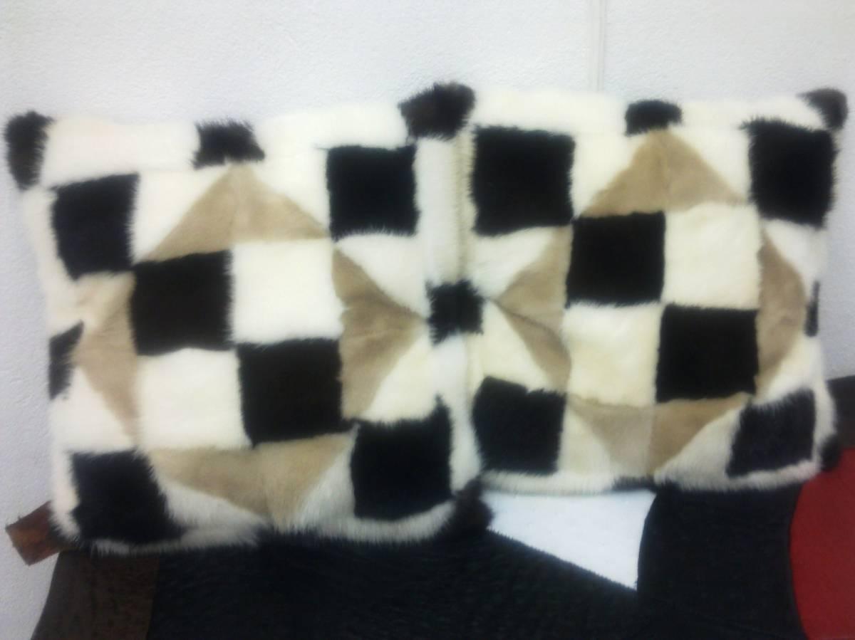 Диванные подушки из меха своими руками фото